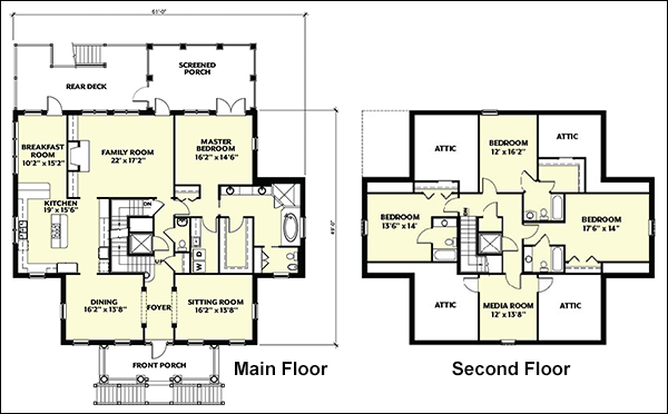 Small House Plans | Small House Designs | Small House Layouts ...