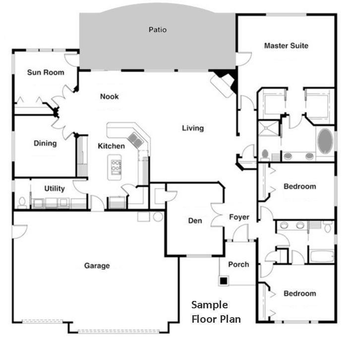 Electrical Design Software Home: Floor Plan Diagrams Using CAD Pro