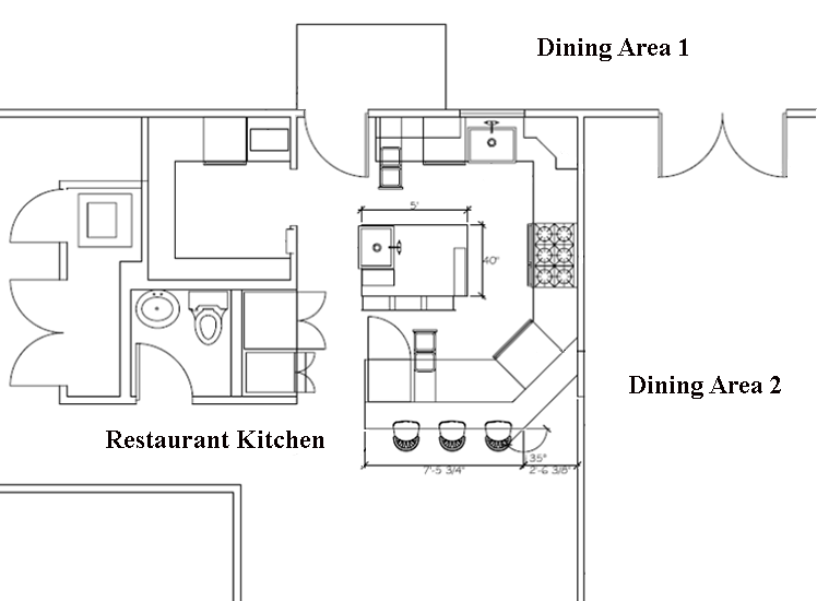 Restaurant layout design image gallery cad pro software