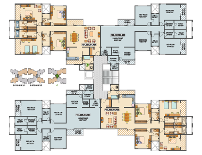 Commercial floor plan software commercial office design Building layout software free