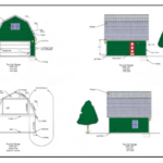 Barn Garage Plan