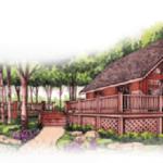 Cabin w- Landscape 2