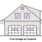 2 Car Garage Design