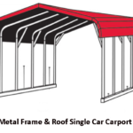 Single Car Carport Layout