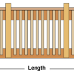 Wood Railing Deck Design