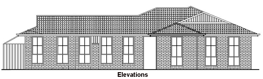 Elevation Plan Software : Elevation diagram creation design home