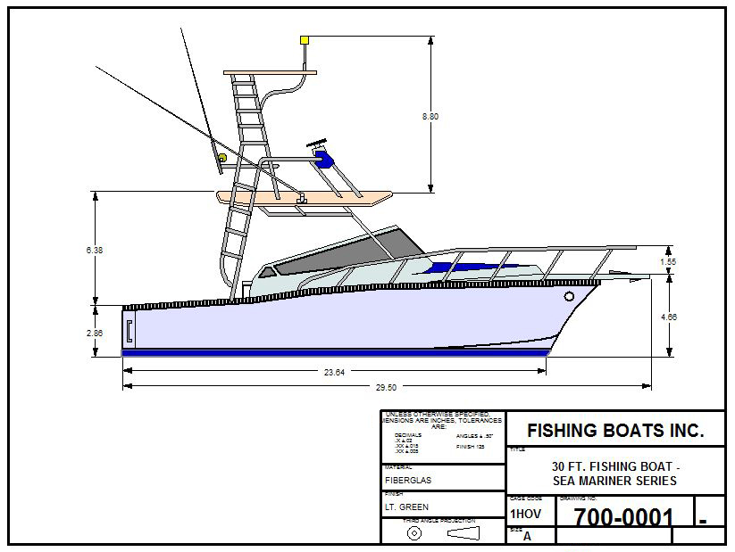 Fishing Boat Designs Cad Pro