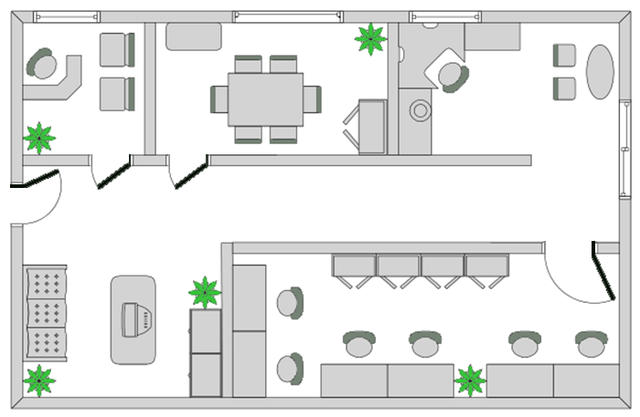 Commercial drawings office layouts building design - Office floor plan design software ...