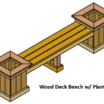 Planter Bench Design