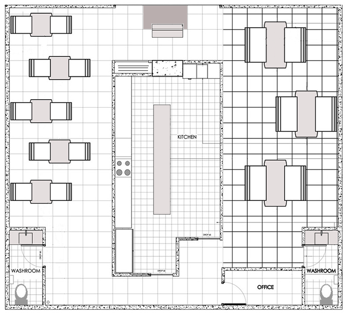Restaurant Kitchen Layout Autocad: Restaurant Design Software