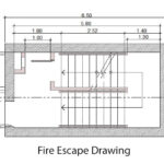 Fire Escape Drawing