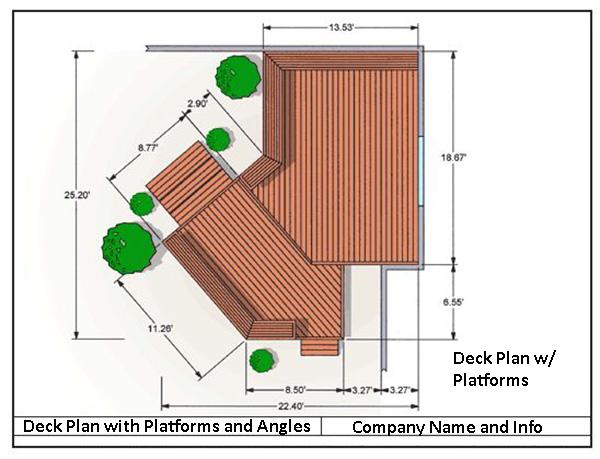 Wood Deck Designs Deck Design Deck Design Software