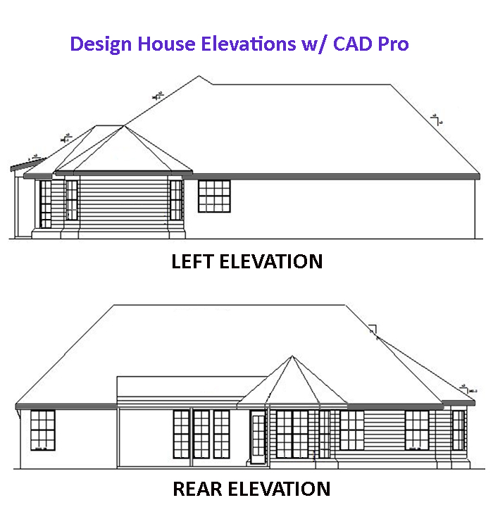 housing elevation plans