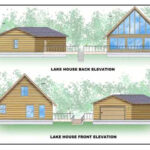 Lake House Elevation Design