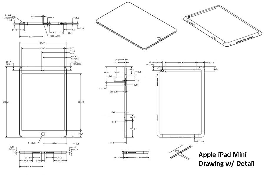 Apple Ipad Mini Drawing Cad Pro