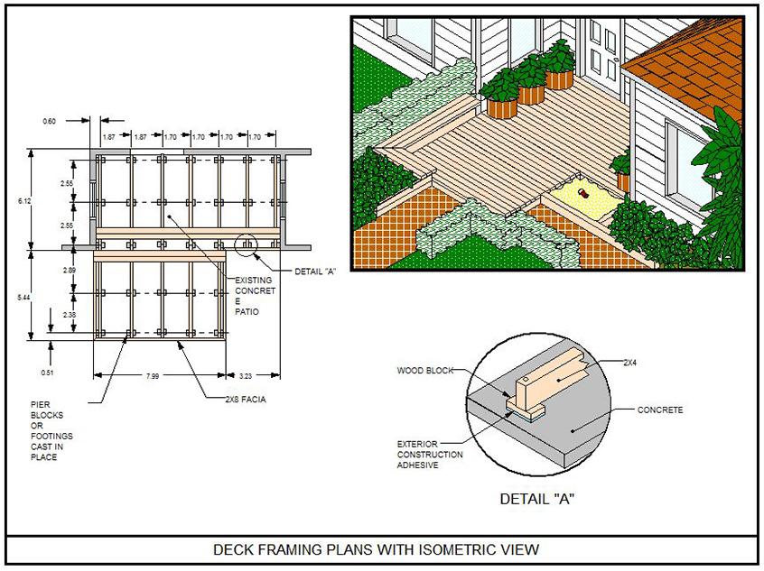 Wood Deck Designs | Deck Design | Deck Design Software