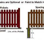 Wooden Fence Sample