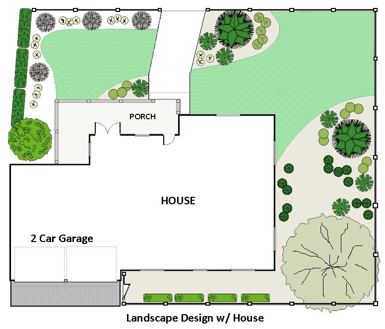 Home Landscape Software Features: Landscape Design Software