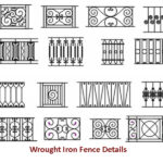 Decoratiev Fence Design Samples