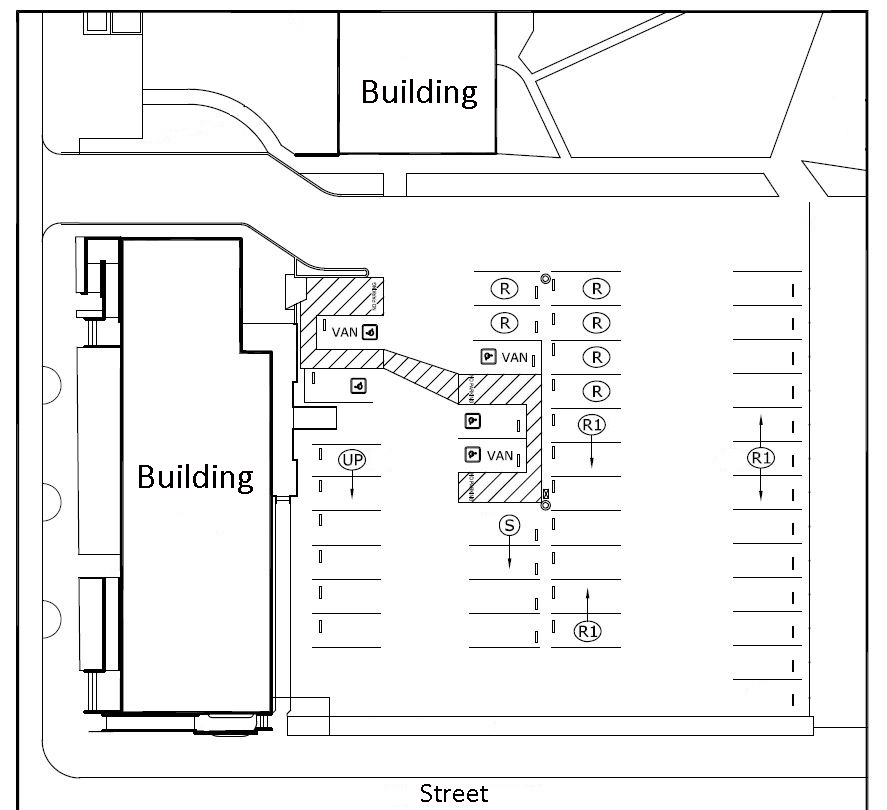 Parking Lot Layouts CAD