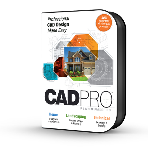 Cad Pro Platinum Drawing Software Drafting Software