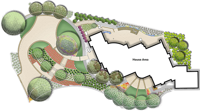 Landscape design landscape designs residential for Design your landscape