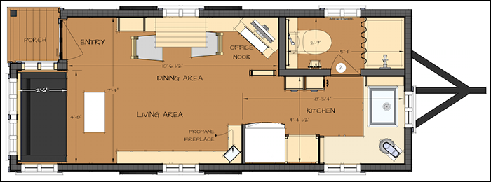 Tiny Home Plans Awesome Design