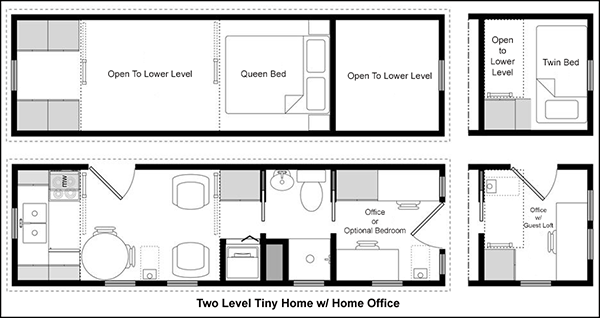 Superb Easy Tiny House Floor Plans