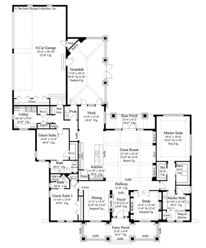 Easy living features luxurious floor plans cad pro for Easy home plan drawing software