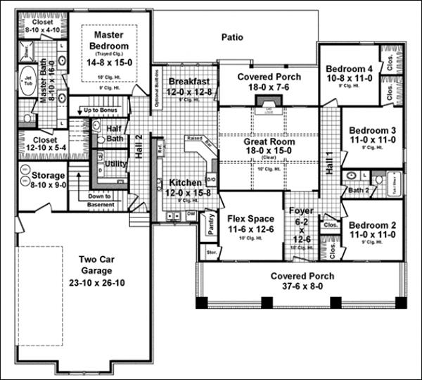 Flexible Space Home Floor Plans Cad Pro