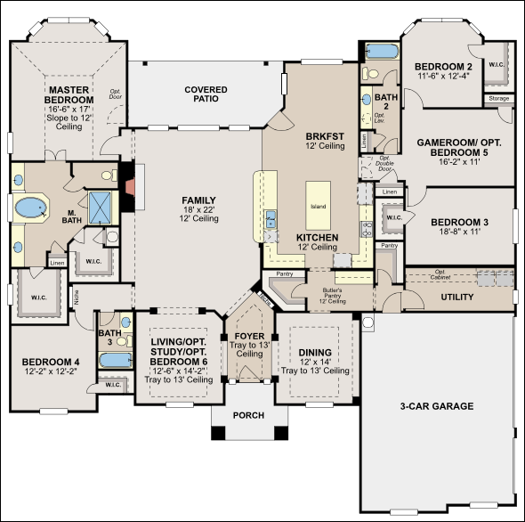35 custom floor plans custom house plans southwest Floorplan software