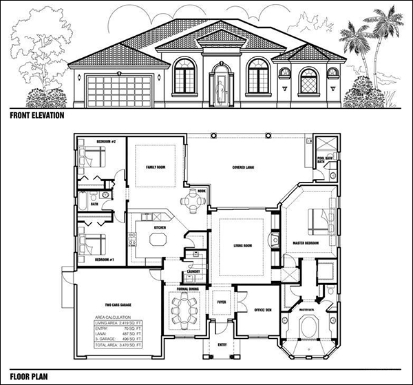 Software for drawing floor plans and elevations gurus floor for Floor plan drafting software