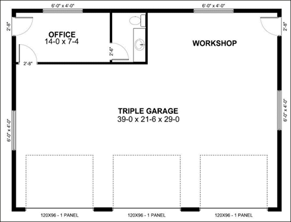 Detached Garage Plans Design Software Cad Pro