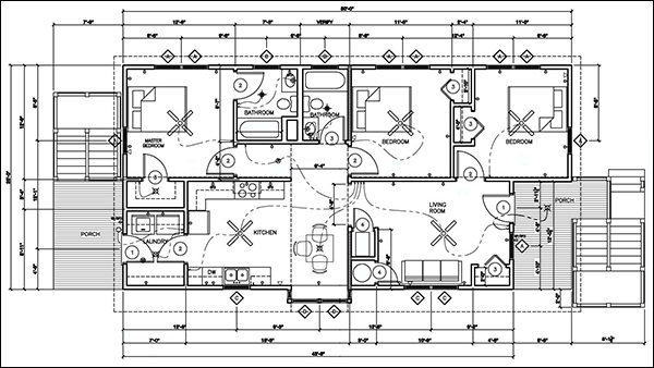 Easy home blueprint software cad pro Floor plan drawing freeware