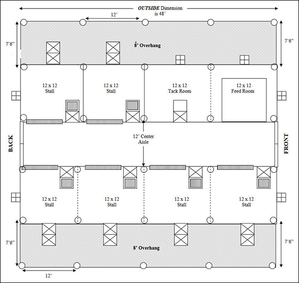 Easy horse barn floor plan design software cad pro Floor plan design program