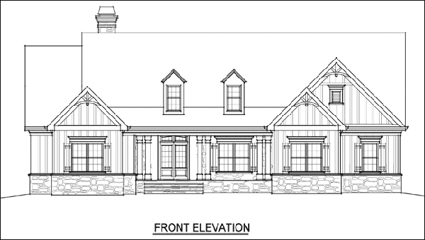 Floor Plan Elevation Drawing Software : Popular farmhouse floor plan design software cad pro
