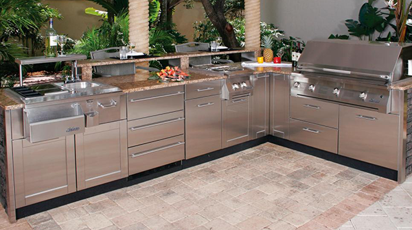 Amazing Outdoor Kitchen Appliances | CAD Pro