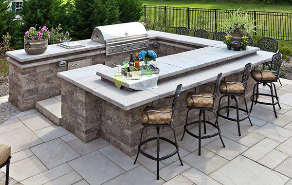 Best Outdoor Kitchen Countertops Options