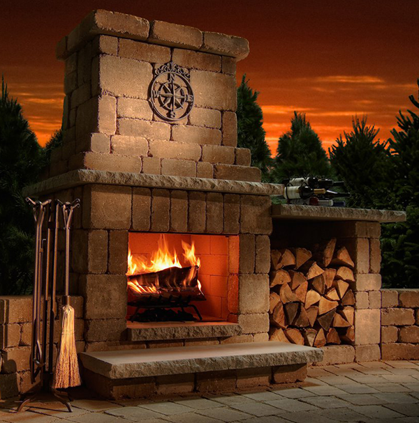 Easy Outdoor Fireplace Design Software