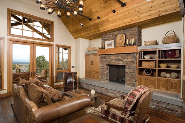 Popular Home Design Hearth Rooms