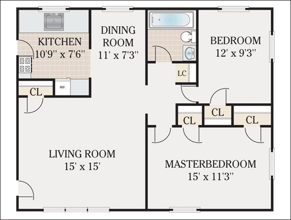 Popular Apartment Floor Plan Designs Cad Pro