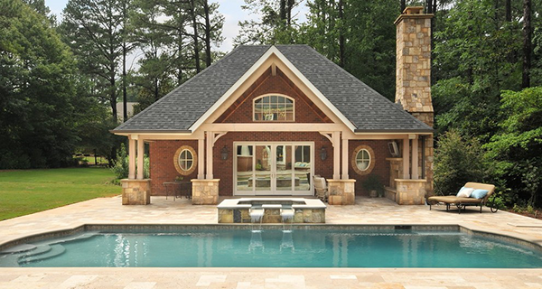 Popular Pool House Plans Cad Pro
