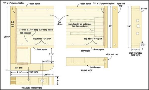 Popular Woodworkers Journal Design Plans