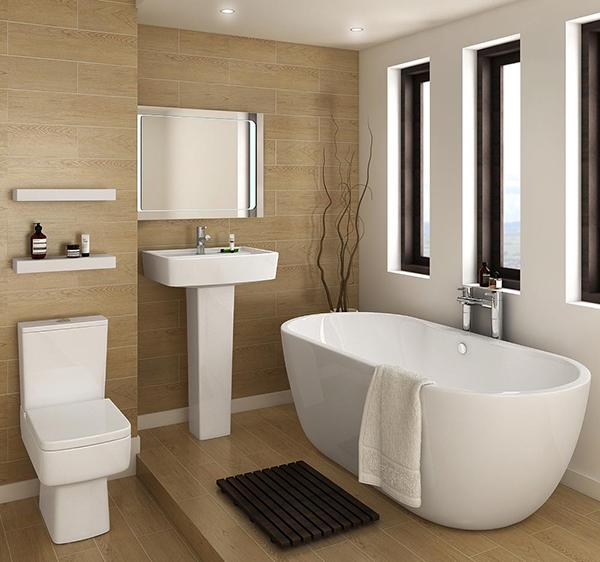 Popular bathroom design trends cad pro for Common bathroom layouts