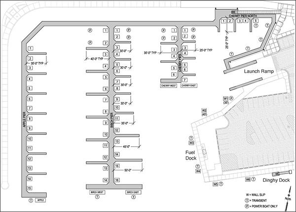 Marina Dock Design Layouts