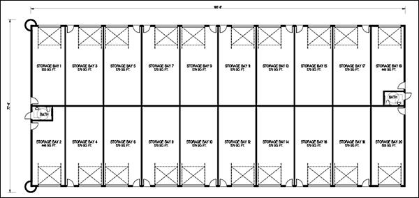 Mini Storage Building Design Software