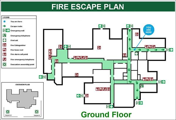 Building Evacuation Design Plans