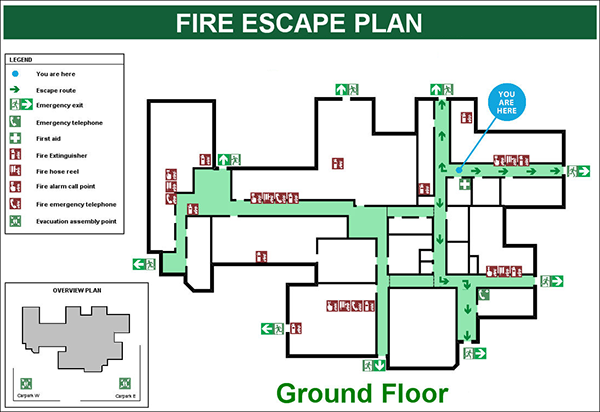 Easy Building Evacuation Design Plans