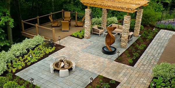 Landscape Plans Add Value with Landscaping Home Improvement Plans