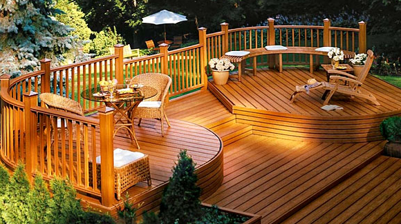 new home decking cost and materials